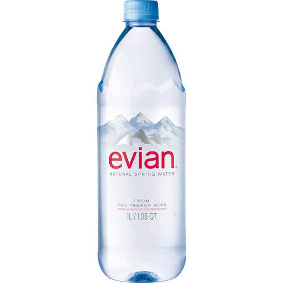 Evian Water 1 Liter - East Side Grocery