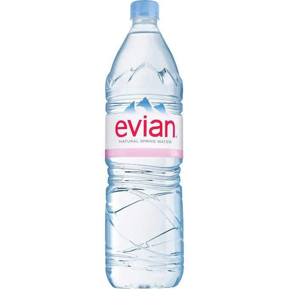 Evian Water 1.5 Liter - East Side Grocery