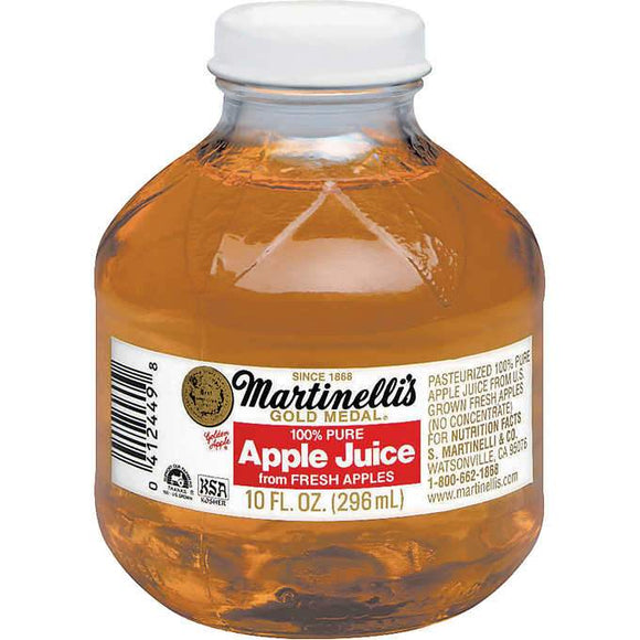 Martinelli's 100% Pure Apple Juice 10oz. - East Side Grocery