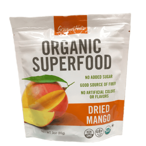 Gourmet Organic Superfood Dried Mango 3oz. - East Side Grocery