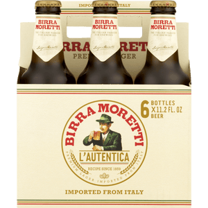 Birra Moretti Premium Lager 12oz. Bottle - East Side Grocery