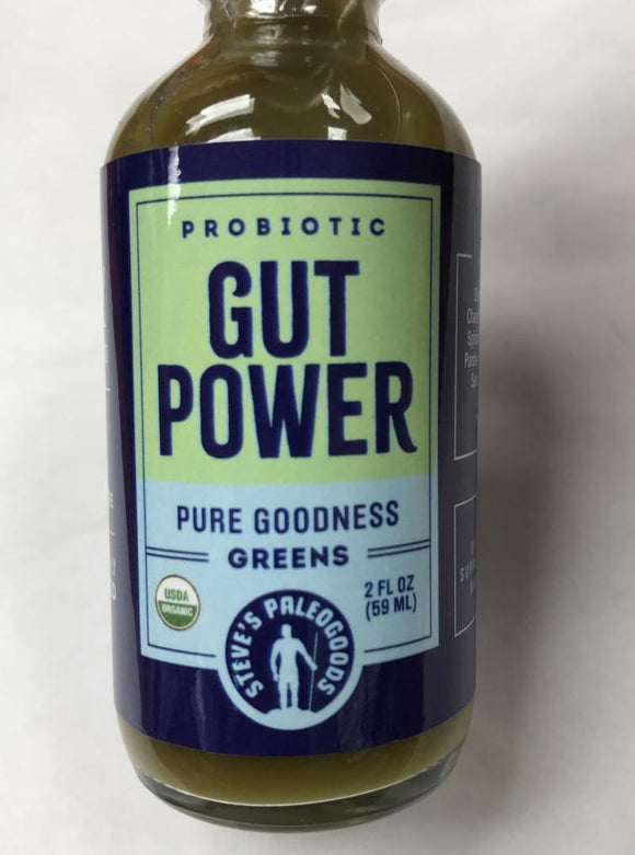 Gut Power Pure Goodness Shot 2oz. - East Side Grocery
