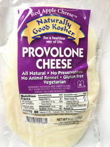 Naturally Kosher Provolone Sliced Cheese 8oz. - East Side Grocery