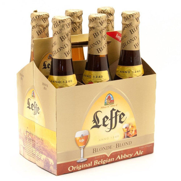 Leffe Blonde - 11.2oz. Bottle - East Side Grocery