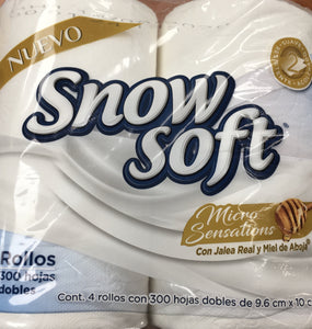Snow Soft Bathroom Tissue 4 Pack - East Side Grocery
