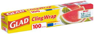 Glad Cling Warp - 100 Sq.Ft. - East Side Grocery