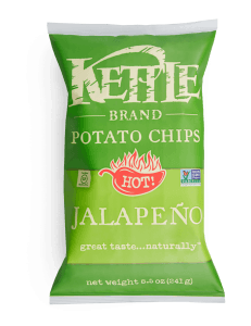 Kettle Chips Jalapeño 5oz. - East Side Grocery