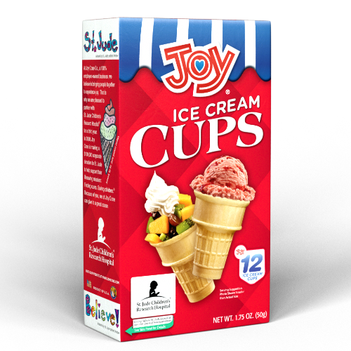 joy Ice Cream Cups 12ct. - East Side Grocery