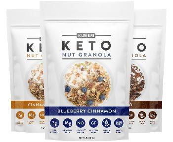 Low Karb - Keto Nut Granola 11oz. - East Side Grocery