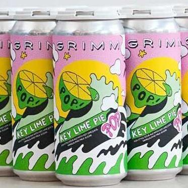 Grimm Key Lime Pie Pop! 16oz. Can