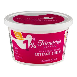 Friendship Low Fat Cottage Cheese  8oz. - East Side Grocery
