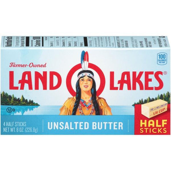 Land O Lake Butter Unsalted 8oz. - East Side Grocery
