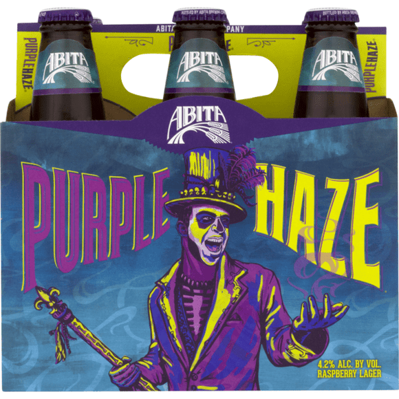 Abita Purple Haze 12oz. Bottle - East Side Grocery