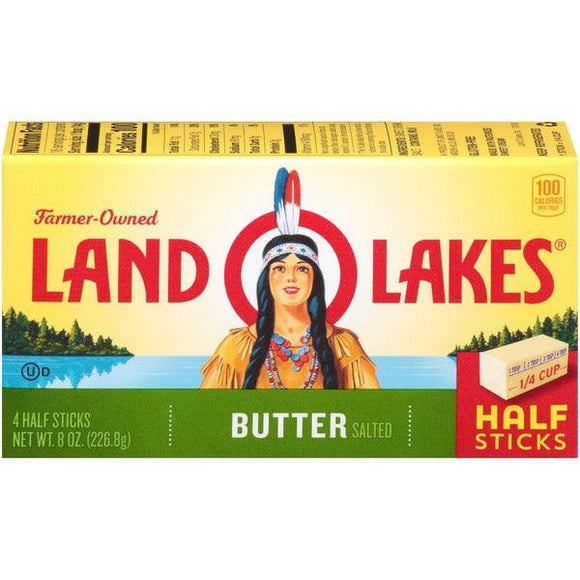 Land O Lake Butter Salted 8oz. - East Side Grocery