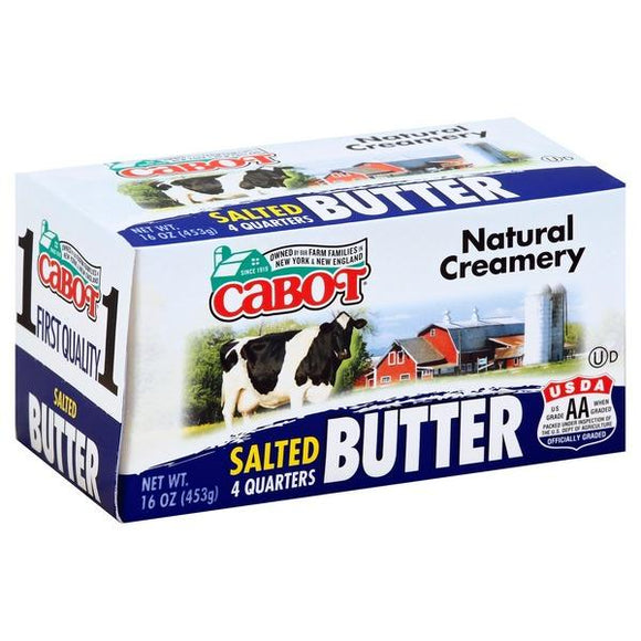 Cabot Butter Salted 16oz. - East Side Grocery