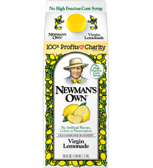 Newman's Own Lemonade 59oz. - East Side Grocery