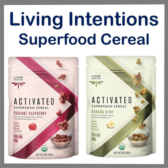 Living Intentions Superfood Cereal 9oz. - East Side Grocery