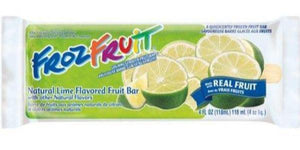 Marinos Frozen fruit Bar Lime 4oz.. - East Side Grocery