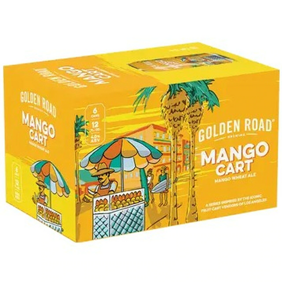 Golden Road Mango Cart 12oz. Cans