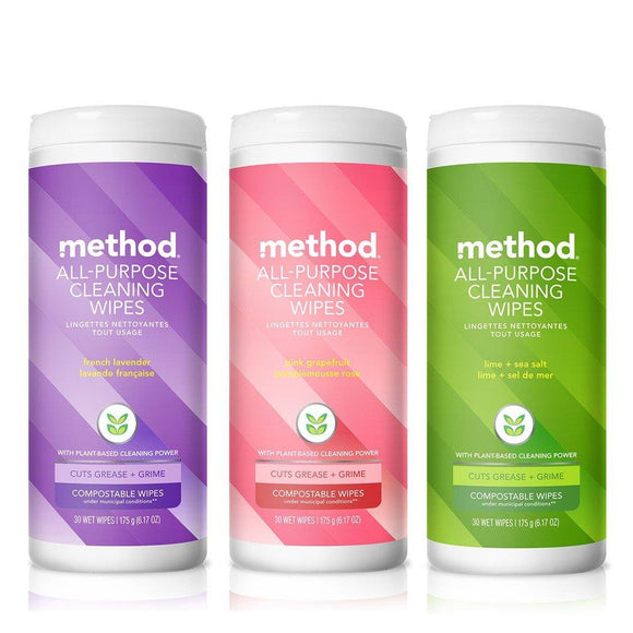 Method All Purpose Wipes 30 Wipes