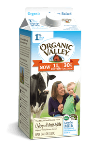 Organic Valley 1% Milk Half Gallon - East Side Grocery