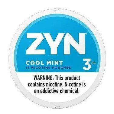 Zyn Nicotine Pouches Cool Mint - East Side Grocery