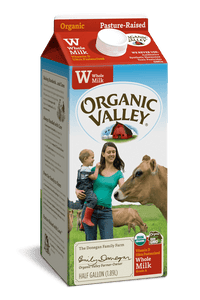 Organic Valley Whole Milk Half Gallon - East Side Grocery
