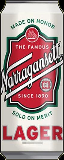 Narragansett Lager  24oz. Can - East Side Grocery