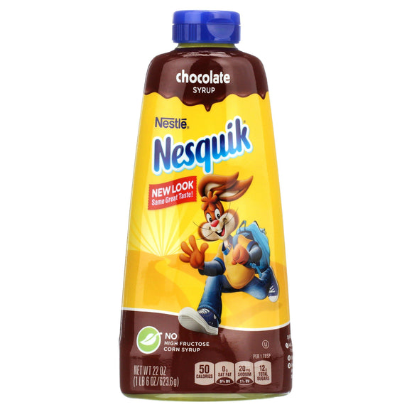 Nesquik Chocolate Syrup 22oz. - East Side Grocery