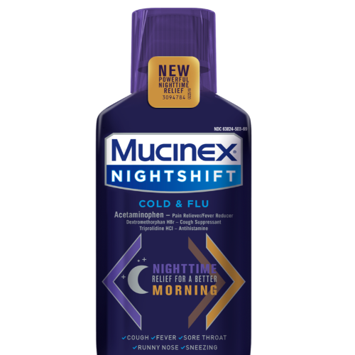 Mucinex Night Shift Cold & Flu 4oz. - East Side Grocery