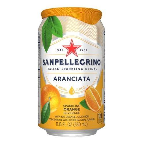 Sanpellegrino Aranciata 11.15oz. Can - East Side Grocery