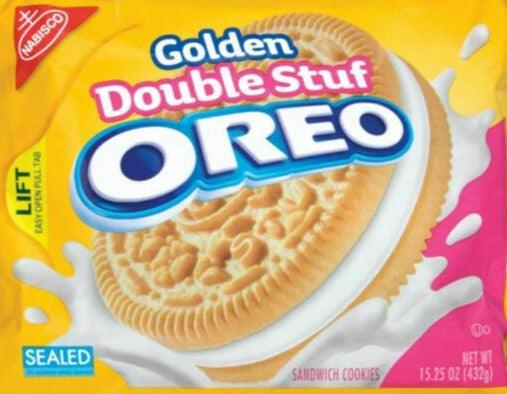 Nabisco Golden Double Stuff Oreo 14.3oz. - East Side Grocery