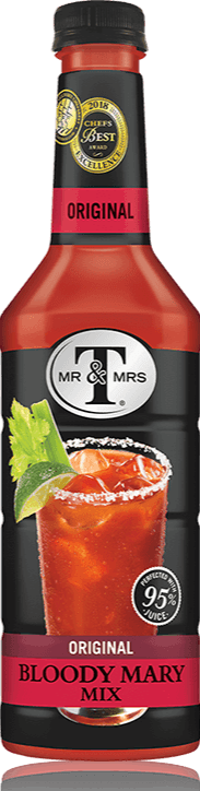 Mr. & Mrs. T Bloody Mary Mix - 33.8 oz. - East Side Grocery