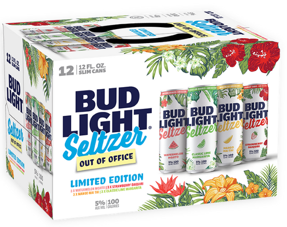 Bud light Hard Seltzer Out of Office 12oz. Can - East Side Grocery