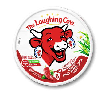 Laughing Cow Wedges Pepper Jack 6oz. - East Side Grocery