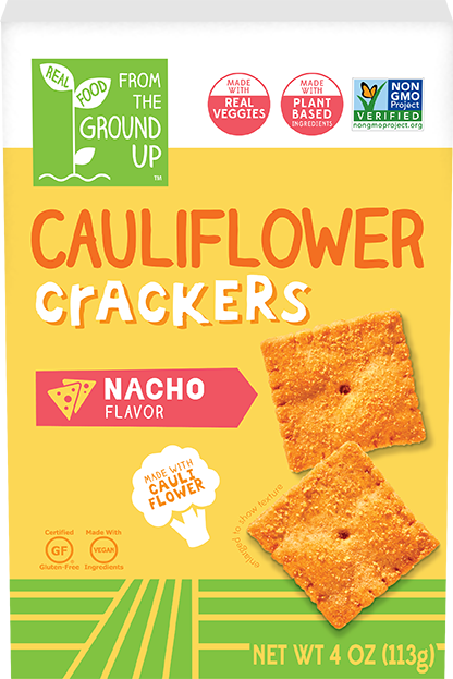 Ground Up Cauliflower Cracker Nacho 4oz. - East Side Grocery
