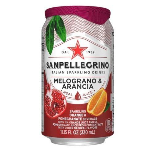 Sanpellegrino Melograno e Arancia 11.15oz. Can - East Side Grocery