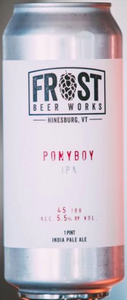 Frost Beer Ponyboy 16oz. Can