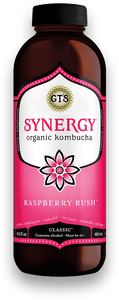 GT'S Classic Kombucha Raspberry Rush 16oz. - East Side Grocery