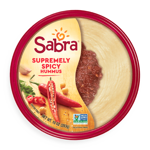 Sabra Hummus Supremly Spicy 10oz. - East Side Grocery