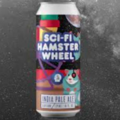 Thin Man Sci Fi Hamster Wheel 16oz. Can - East Side Grocery