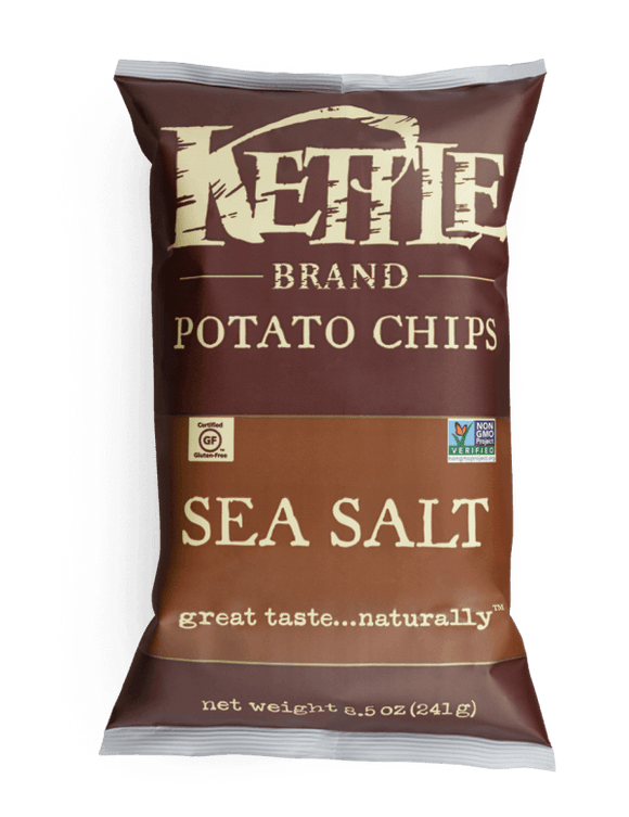 Kettle Chips Sea Salt  5oz. - East Side Grocery