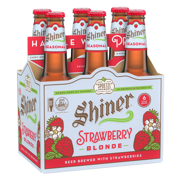 Shiner Strawberry Blonde 12oz. Bottle