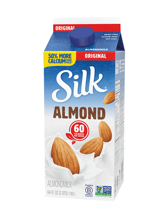 Silk Almond Milk Original - 64oz. - East Side Grocery