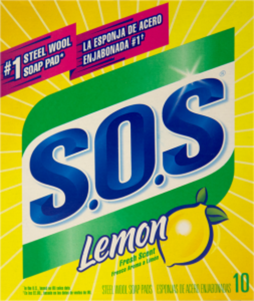 SOS Lemon Soap Pads 10ct. - East Side Grocery