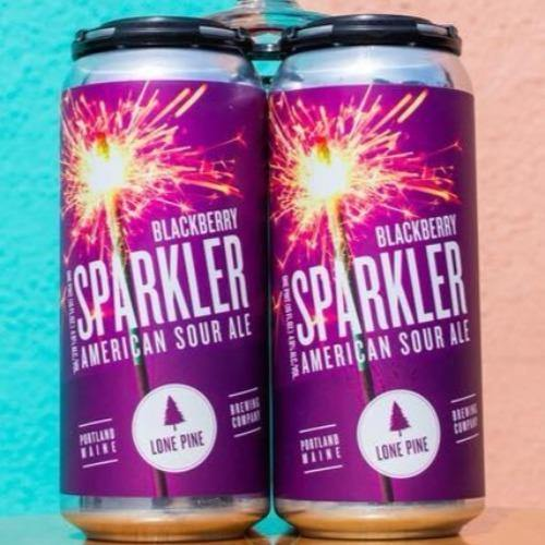 Lone Pine Blackberry Sparkler 16oz. Can - East Side Grocery