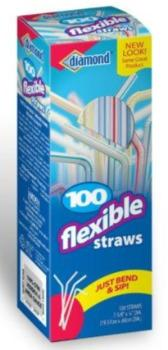 Drinking Straws 100 Count - East Side Grocery