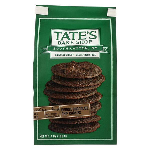 Tates Cookies Double Chocolate Chip  7oz. - East Side Grocery