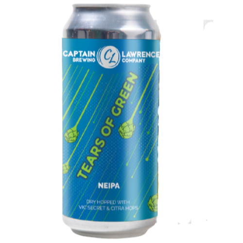 Captain Lawrence Tears of Green 16oz. Can