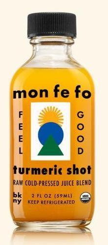 Mon Fe Fo Turmeric Shot 2oz. - East Side Grocery